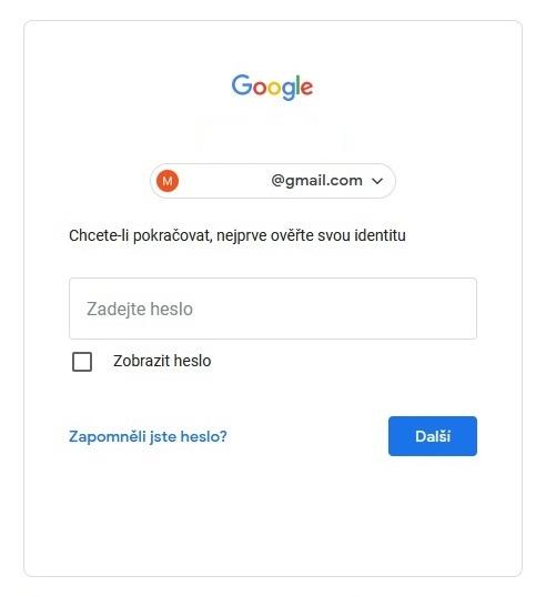 Správce hesel Google 3