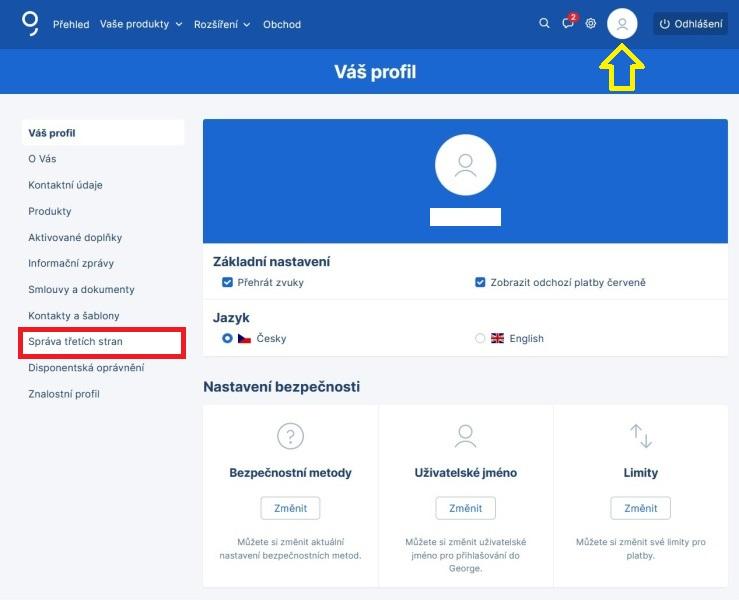 Bankovní identita Česká spořitelna