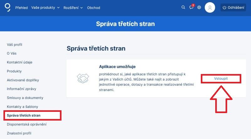 Bankovní identita Česká spořitelna 1