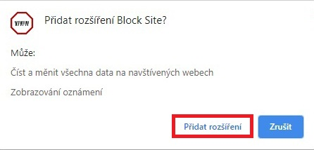 Block site Chrome 2