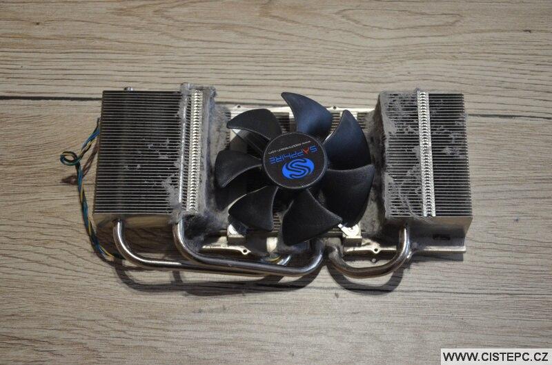 Chladič grafické karty Ati Radeon HD 4870