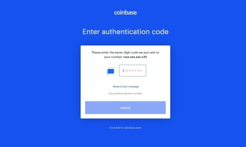 Coinbase návod 04