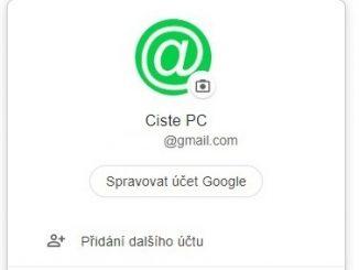 Jak se odhlásit z Gmailu na pc v Chrome