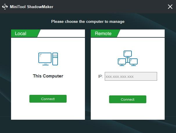 MiniTool ShadowMaker PRO 10