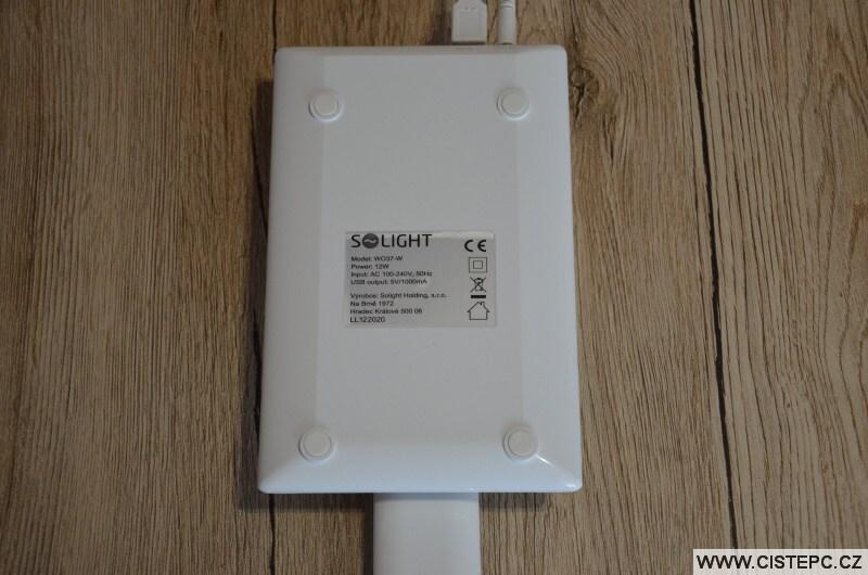 Solight WO37-W stolní dotyková led lampa 7