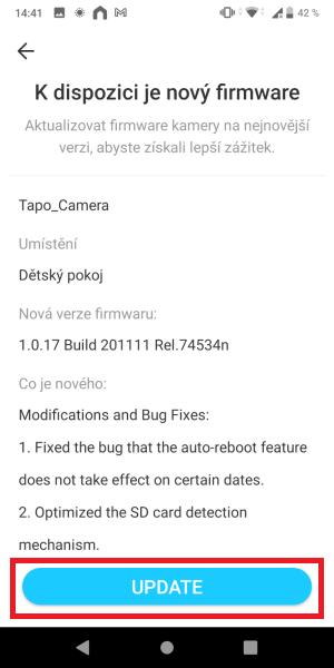 TP-Link Tapo aplikace 18
