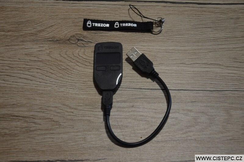 Trezor One - hardwarová peněženka na kryptoměny 4