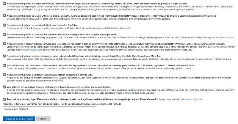 Jak zrušit účet Microsoft 04
