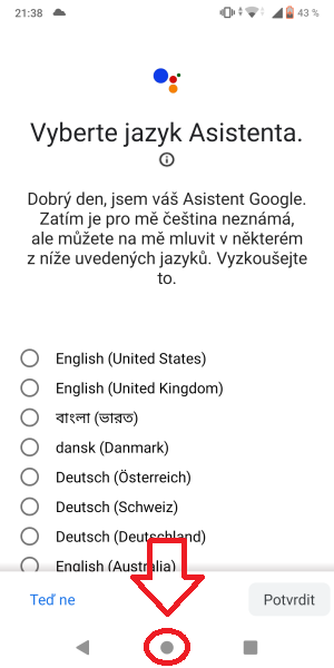Google Asistent 1