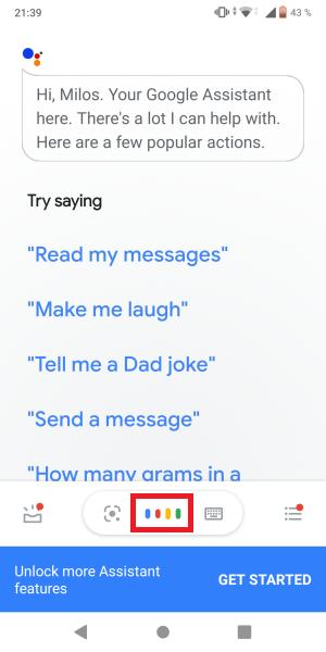 Google Asistent 2