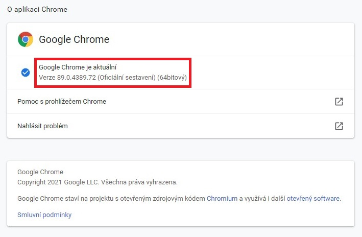 Jak aktualizovat Google Chrome 4
