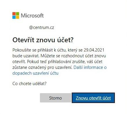 Jak otevřít účet Microsoft 01