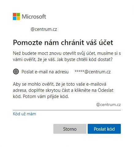 Jak otevřít účet Microsoft 02