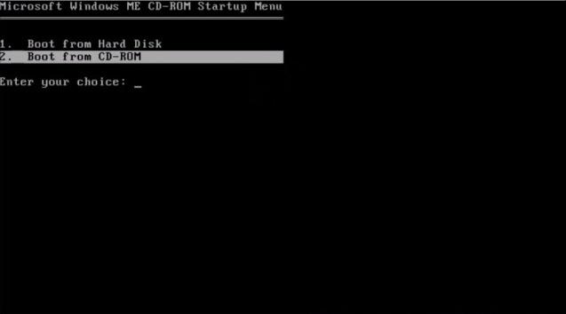 Windows ME (Millenium Edition) 1