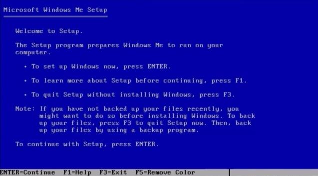Windows ME (Millenium Edition) 3