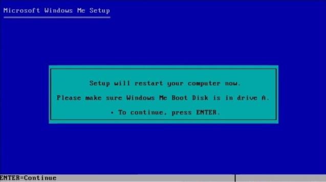 Windows ME (Millenium Edition) 5