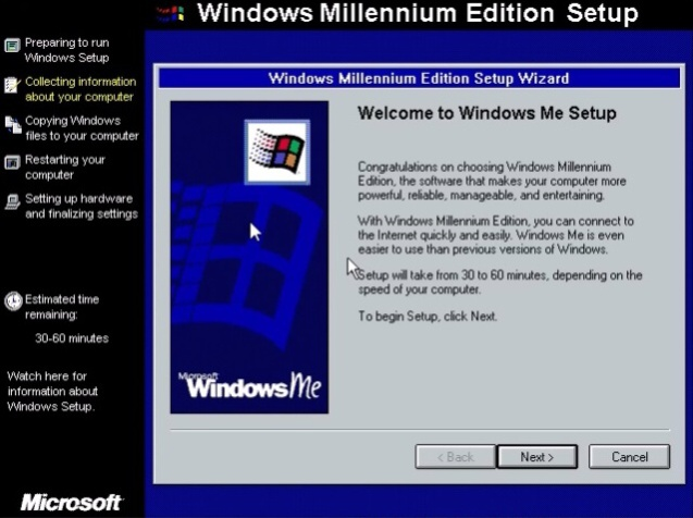 Windows ME (Millenium Edition) 6