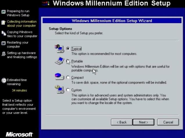 Windows ME (Millenium Edition) 8