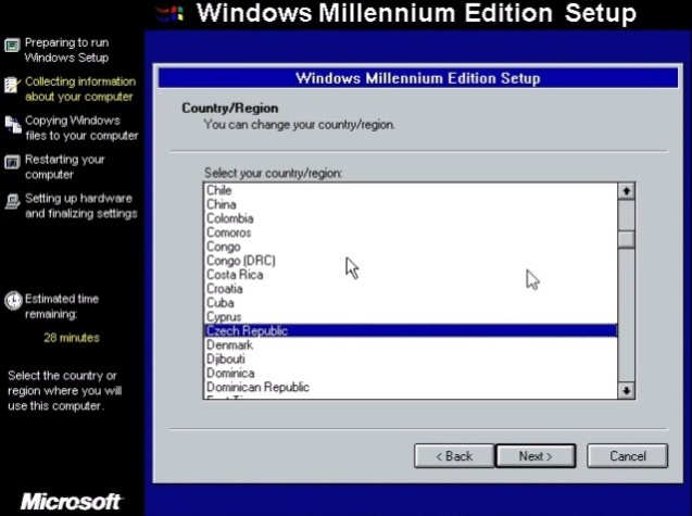 Windows ME (Millenium Edition) 11