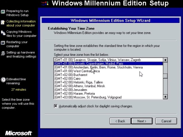 Windows ME (Millenium Edition) 12