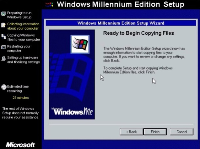 Windows ME (Millenium Edition) 13