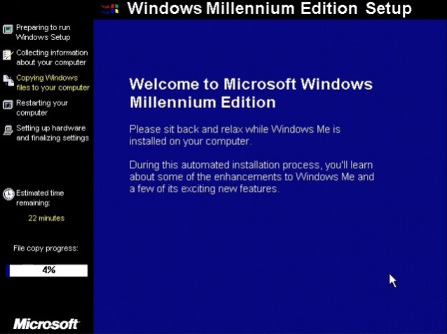 Windows ME (Millenium Edition) 14