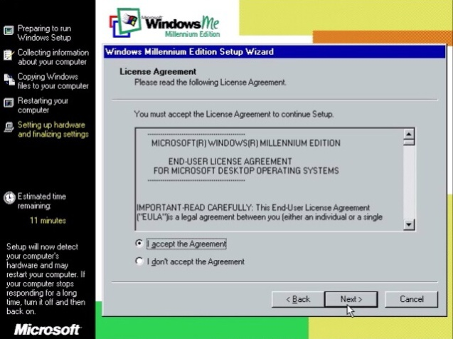 Windows ME (Millenium Edition) 17