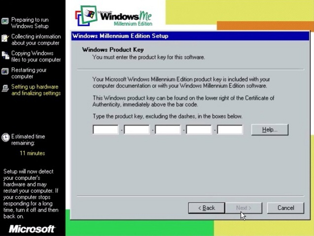 Windows ME (Millenium Edition) 18