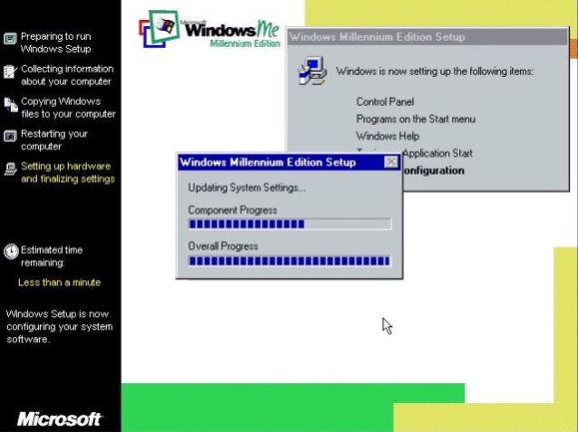 Windows ME (Millenium Edition) 20