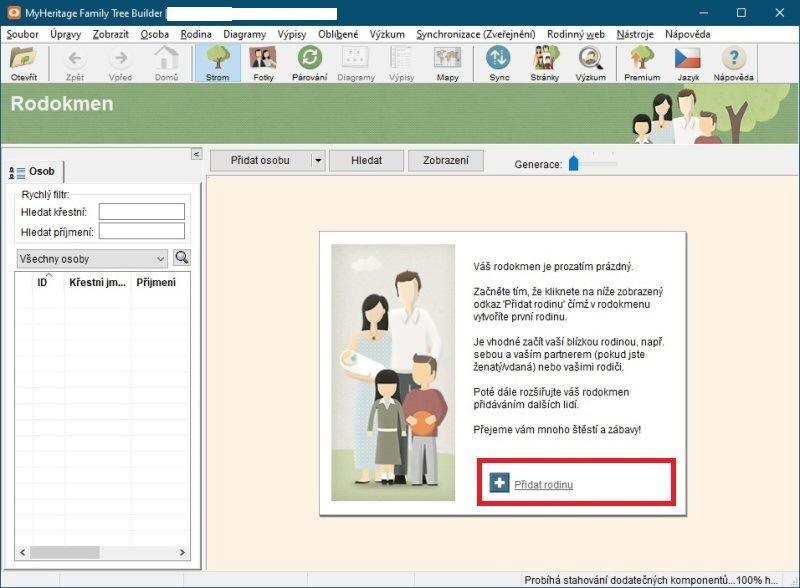 13 Jak sestavit rodokmen - MyHeritage Family Tree Builder