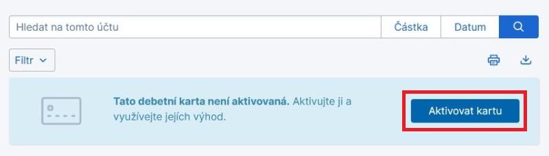 Jak aktivovat novou platební kartu České spořitelny 2