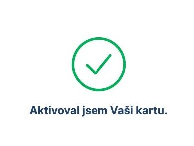 Jak aktivovat novou platební kartu České spořitelny 4