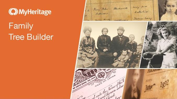 Jak sestavit rodokmen - MyHeritage Family Tree Builder