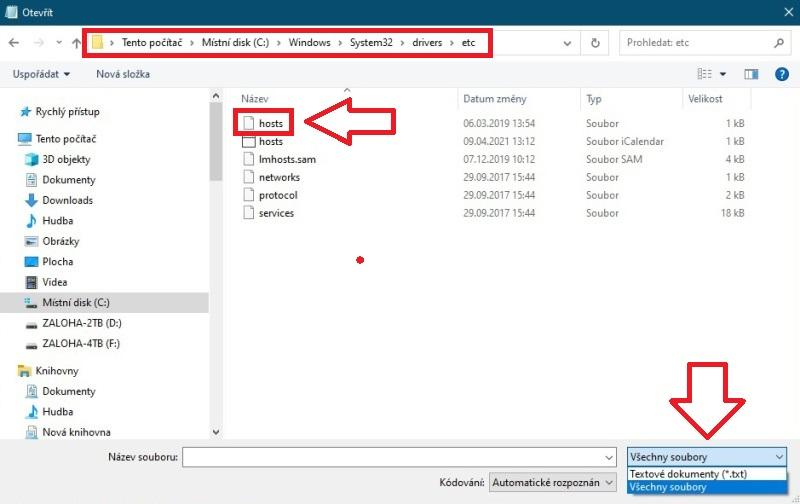 Jak zablokovat webovou stránku na počítači ve Windows 03