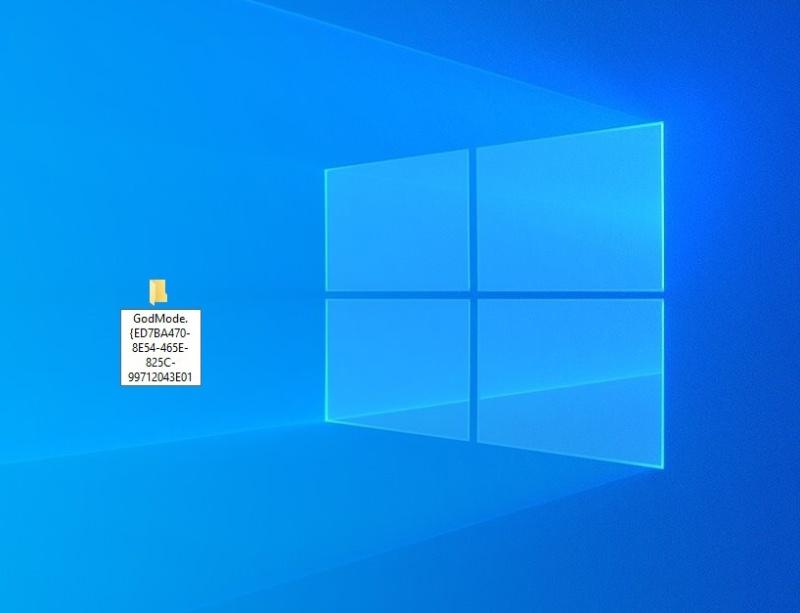 Windows 10 God Mode