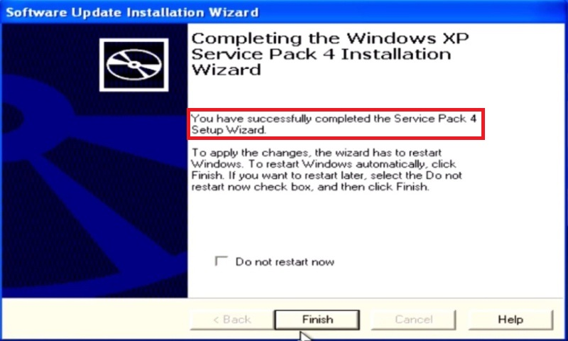 Windows XP Service pack 4 - 7