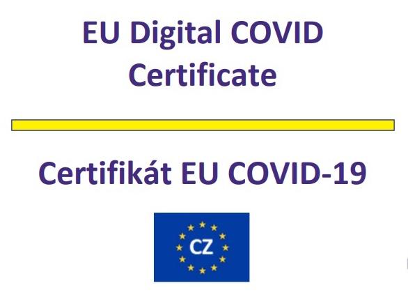 Certifikát očkování Covid 19