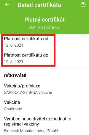 čTečka qr kódu očkování a testu na covid-19 - 9