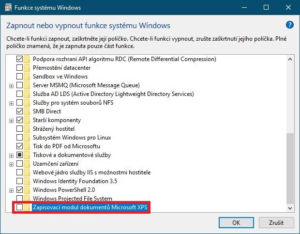 Jak odebrat Microsoft XPS ve Windows 10 - 2