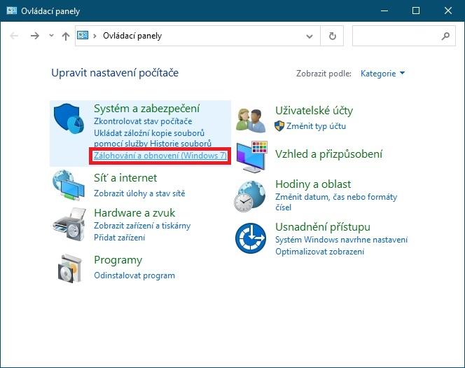 Bitová kopie Windows 10