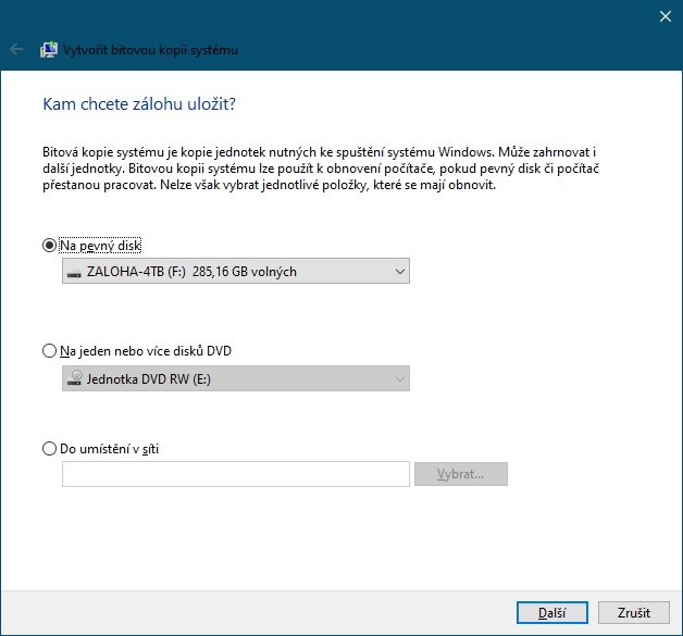 Bitová kopie Windows 10 - 3