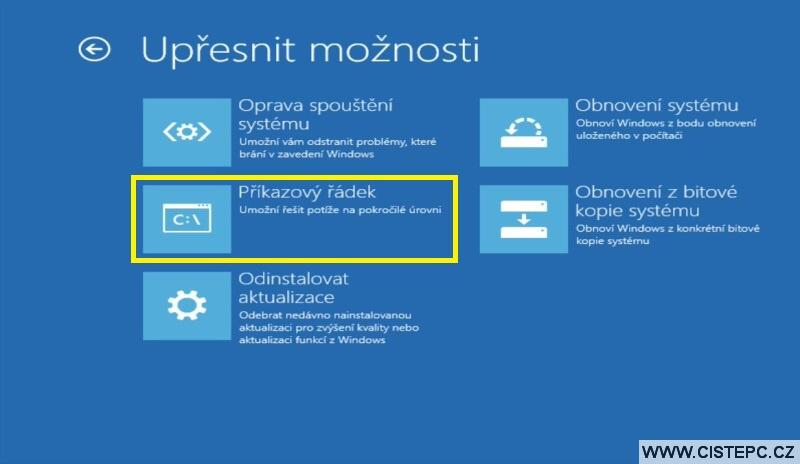 Diks pro opravu systému Windows 10 návod použití 8