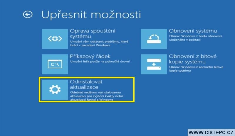 Diks pro opravu systému Windows 10 návod použití 11