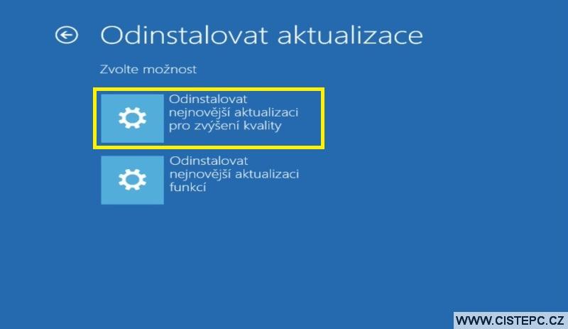 Diks pro opravu systému Windows 10 návod použití 12