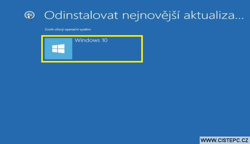 Diks pro opravu systému Windows 10 návod použití 13