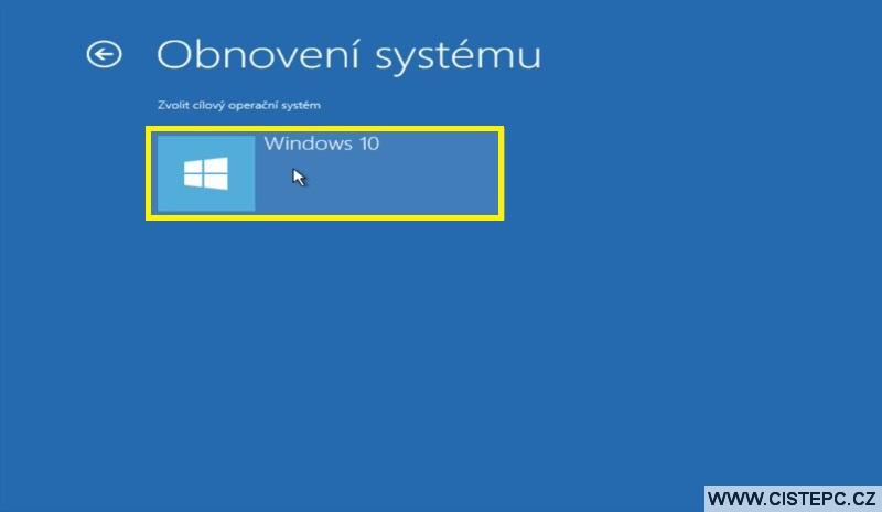 Diks pro opravu systému Windows 10 návod použití 15