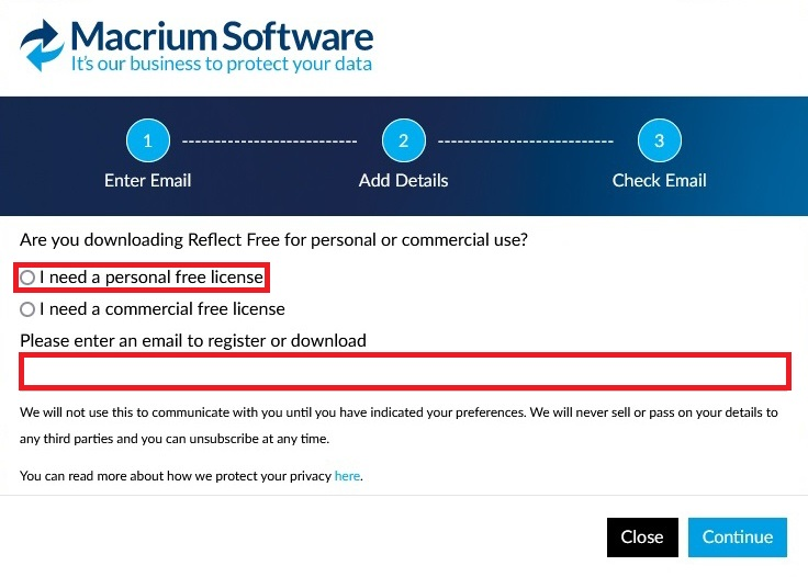 Macrium Reflect 7 free edition 02