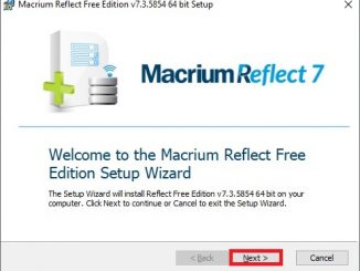 Macrium Reflect 7 free edition 08