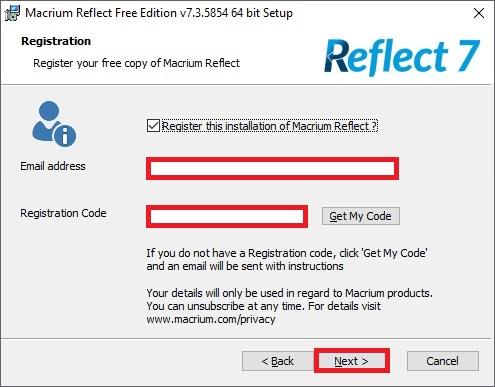 Macrium Reflect 7 free edition 10