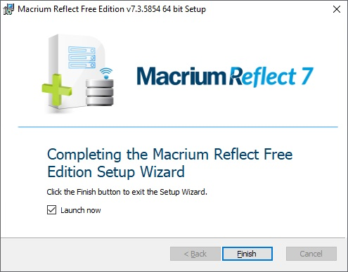 Macrium Reflect 7 free edition 12